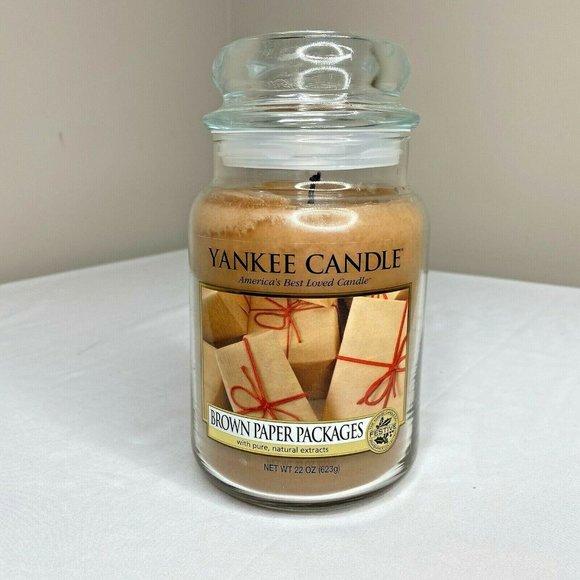 Yankee Candle Brown Paper Packages 22 oz. Jar